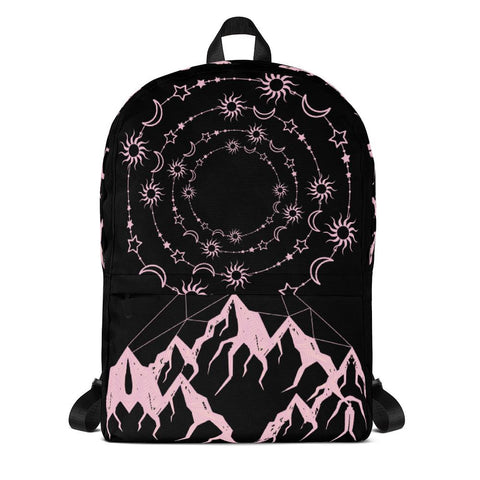 Universe and Mountains Backpack [famenxtshop.com]