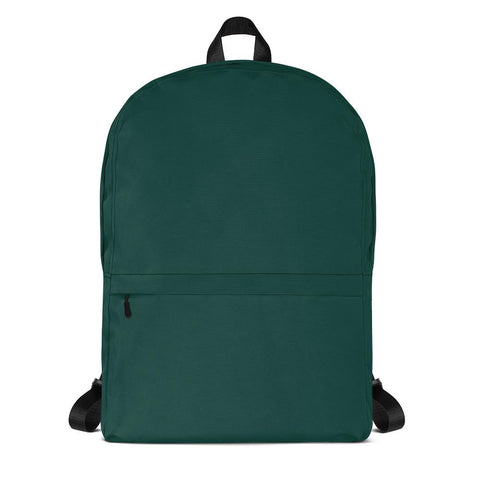 Emerald Green Backpack from Solid Color Series [famenxtshop.com]