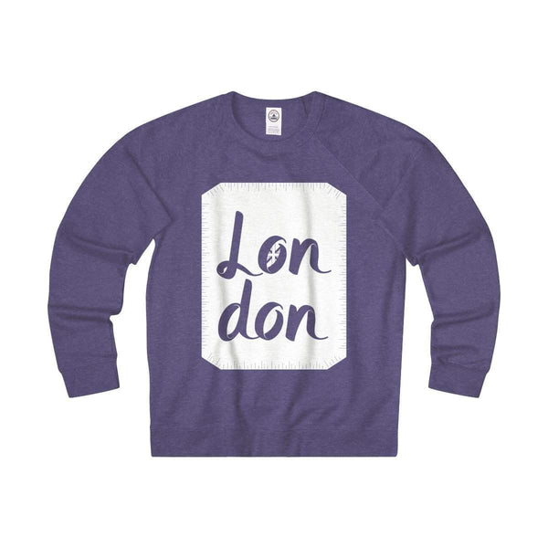 London Unisex French Terry Crew-Sweatshirt-famenxt