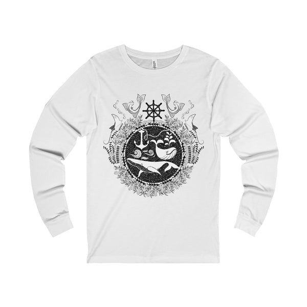 Ocean Unisex Jersey Long Sleeve Tee-Long-sleeve-famenxt
