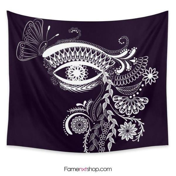 Eye see you boho Tapestry-Wall Tapestry-famenxt