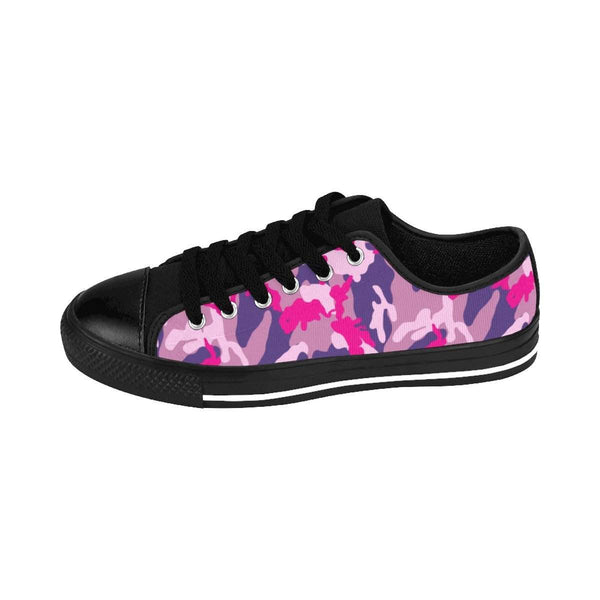 Pink Camouflage Women's Sneakers-Shoes-famenxt