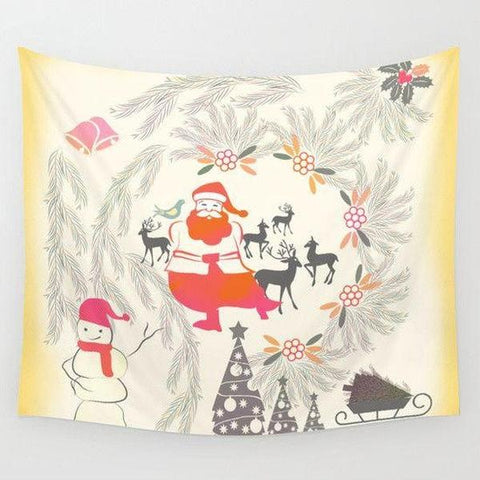 Christmas Wall Tapestry-Wall Tapestry-famenxt