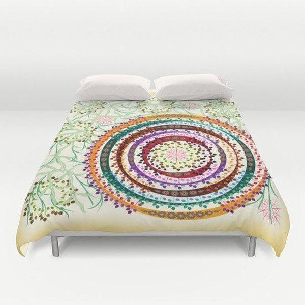 Dense Jungle Duvet Cover-Duvet Cover-famenxt