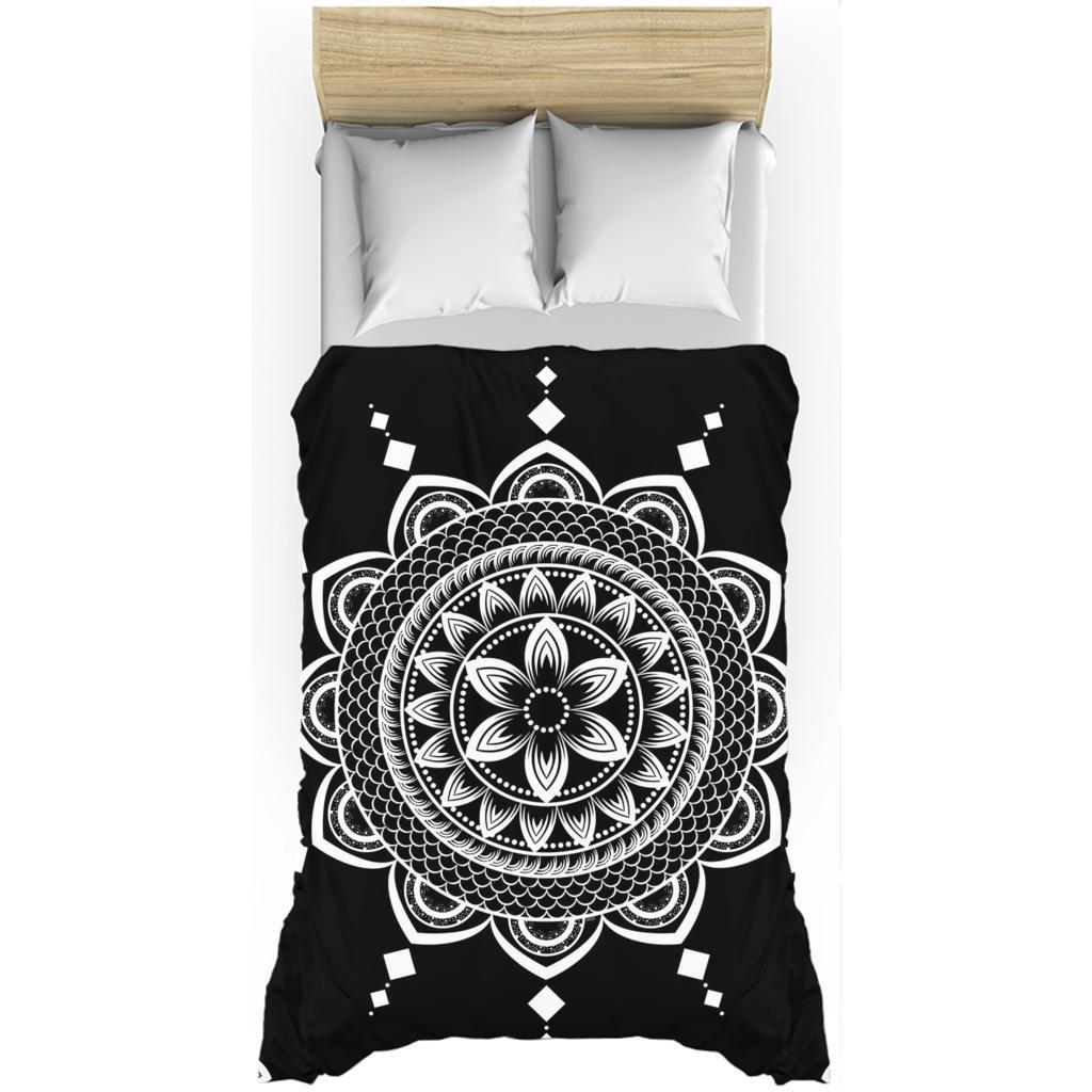Mandala from my15bohemianart Collection Duvet Covers-Duvet Cover-famenxt
