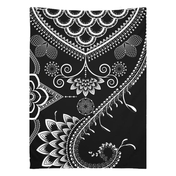 Boho Floral Ornate from my15bohemianart Collection Tapestry-famenxt