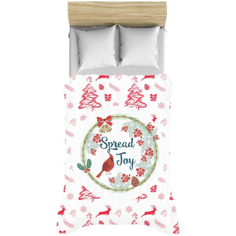 Spread Joy Duvet Cover-famenxt