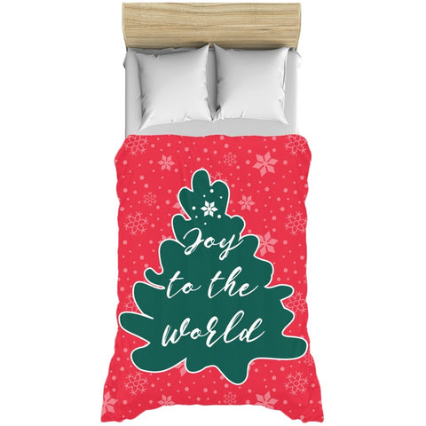 Joy to the World Duvet Cover-famenxt