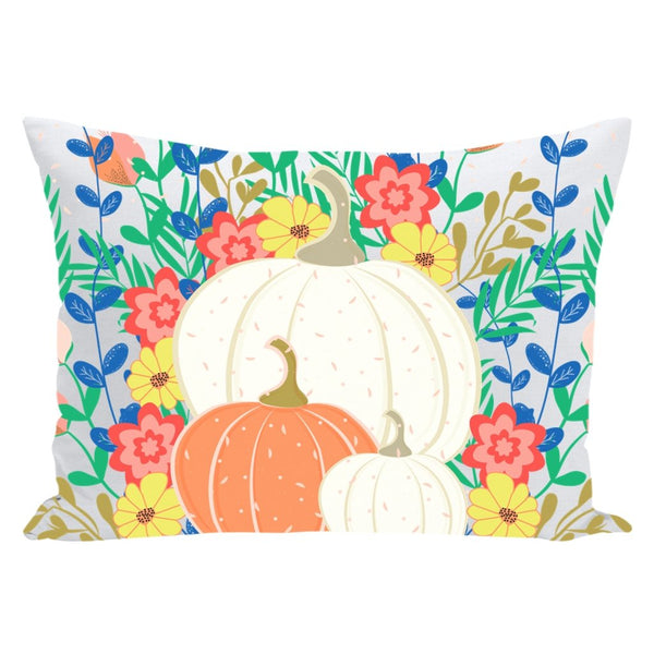 Pumpkins Throw Pillow-famenxt