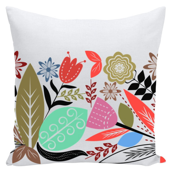Blossom Throw Pillow-famenxt