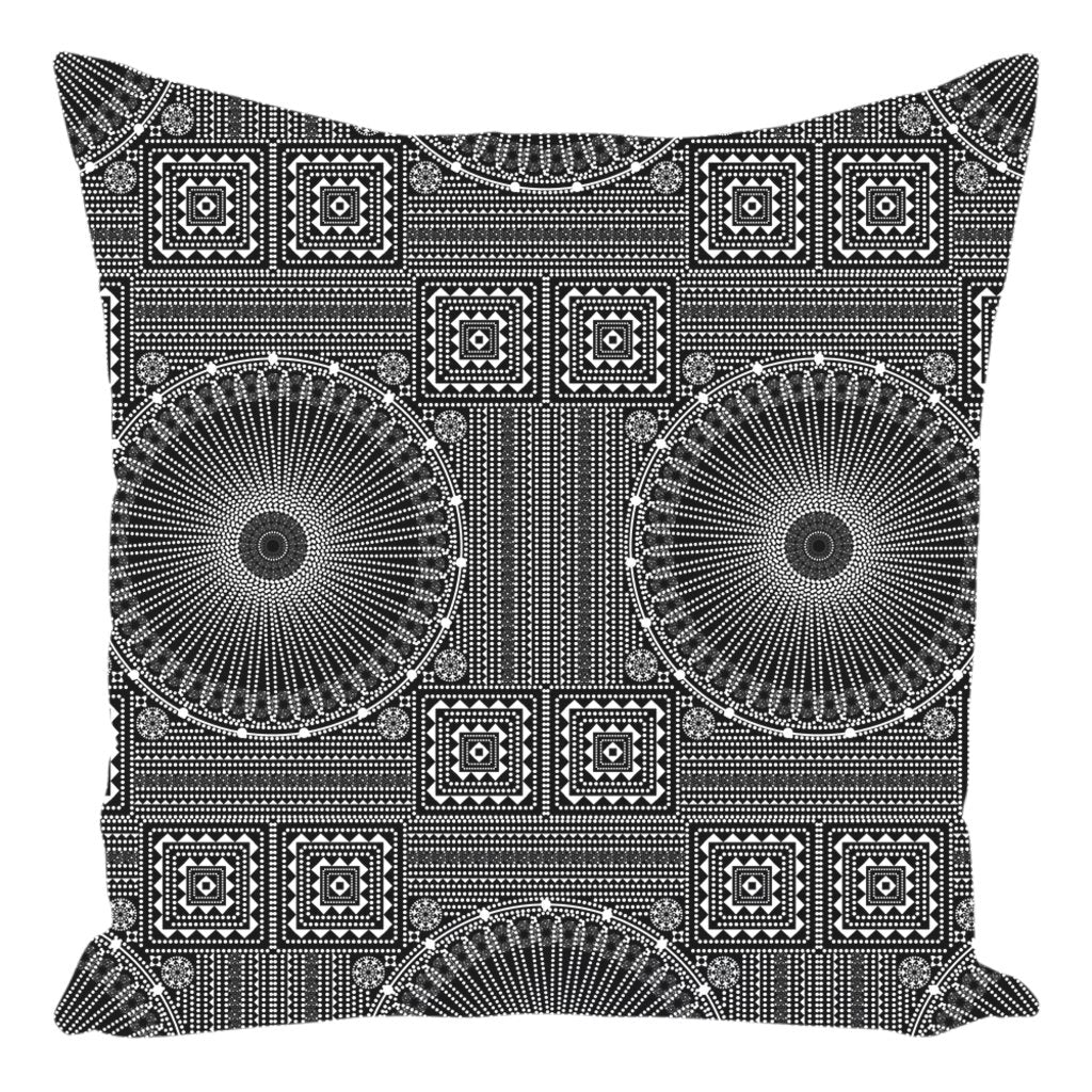 Gujarat Bandhani from my15bohemianart Collection Throw Pillow-famenxt
