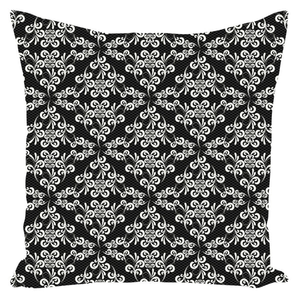 Ornate Lace from my15bohemianart Collection Throw Pillow-famenxt
