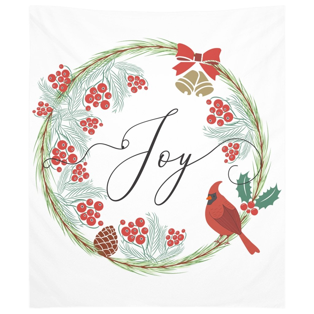 Joy Christmas Tapestry-famenxt
