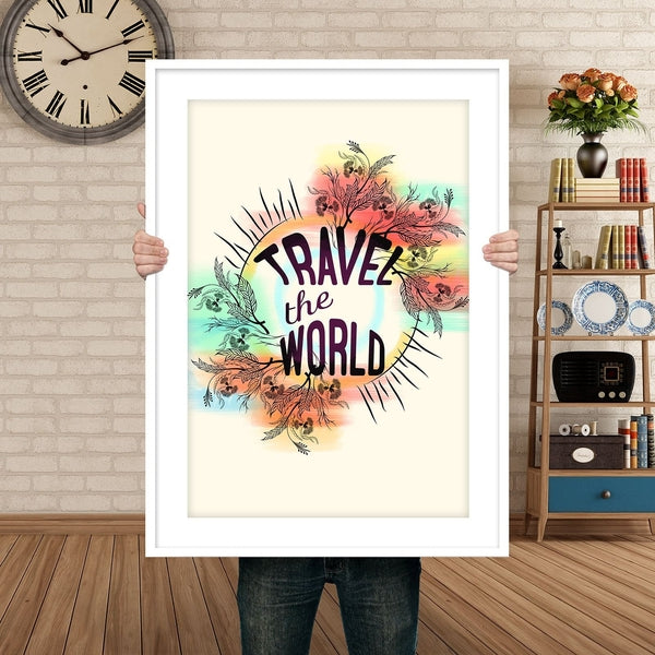 Travel the world poster-Posters-famenxt