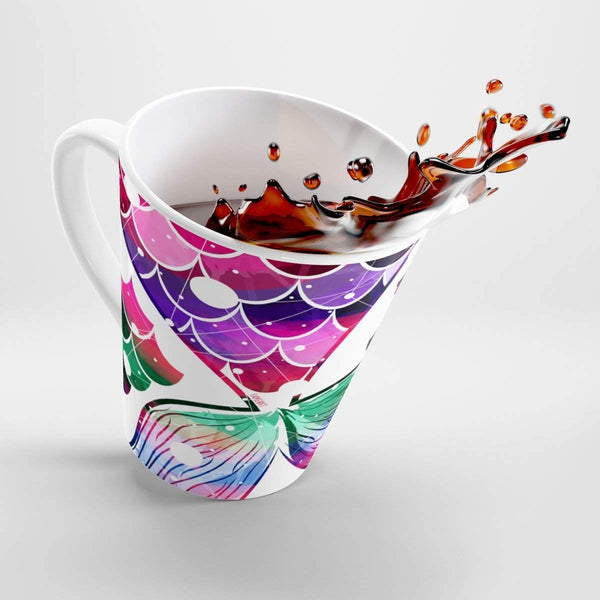 Mermaid Tail Latte mug-Mug-famenxt