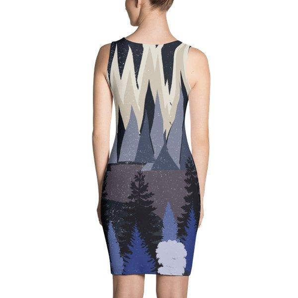 Lets get lost tonight- mountains dress-dress-famenxt