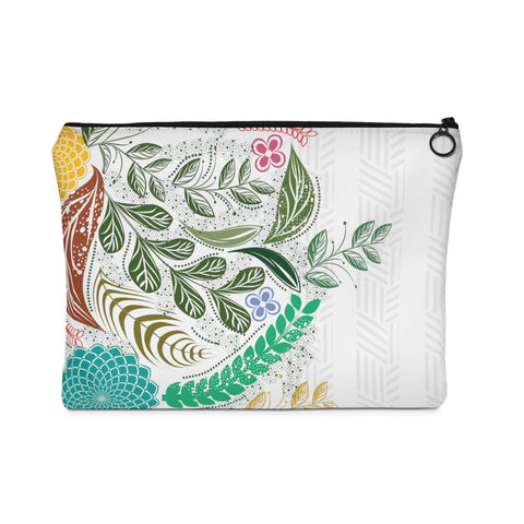 Floral Art Carry All Pouch-Bags-famenxt