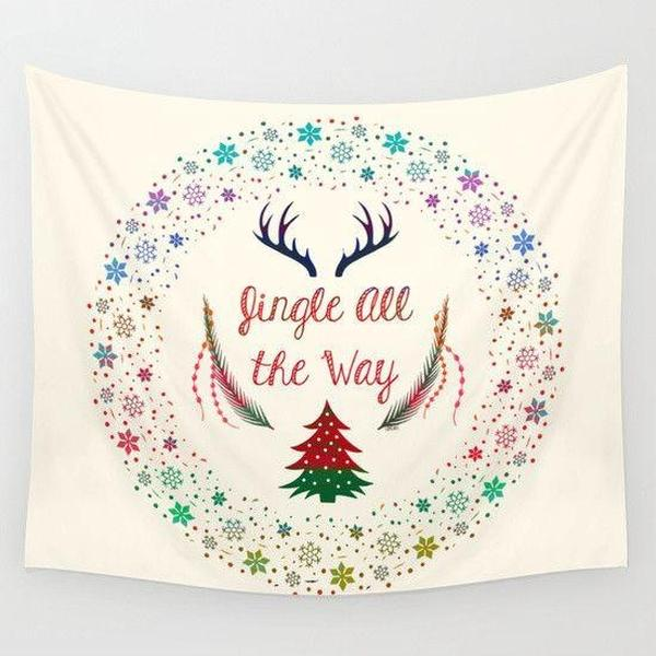 Christmas Eve Wall Tapestry-Wall Tapestry-famenxt