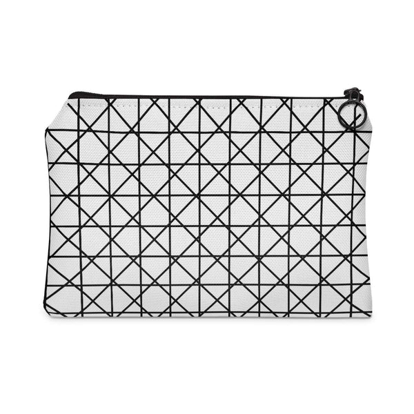 Grid Checks Accessory Pouch-accessory pouches-famenxt