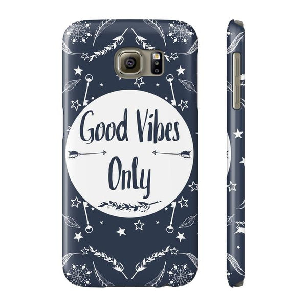 Good Vibes Only Tough and Slim Phone cases-Phone Case-famenxt