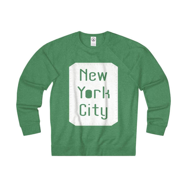 New York City Unisex French Terry Crew-Sweatshirt-famenxt