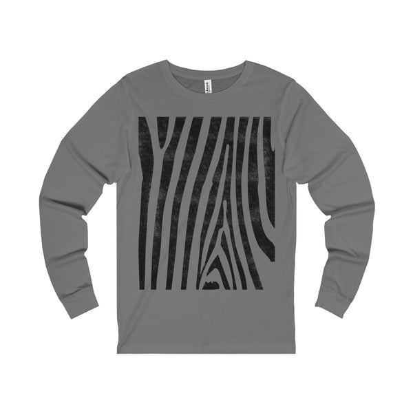 Zebra Stripes Unisex Jersey Long Sleeve Tee-Long-sleeve-famenxt