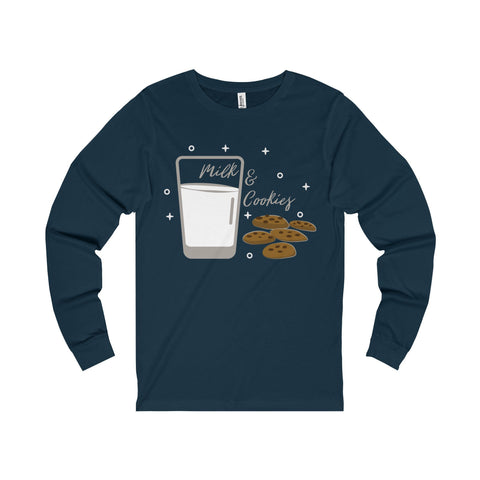 Milk and Cookies Unisex Jersey Long Sleeve Tee - famenxtshop