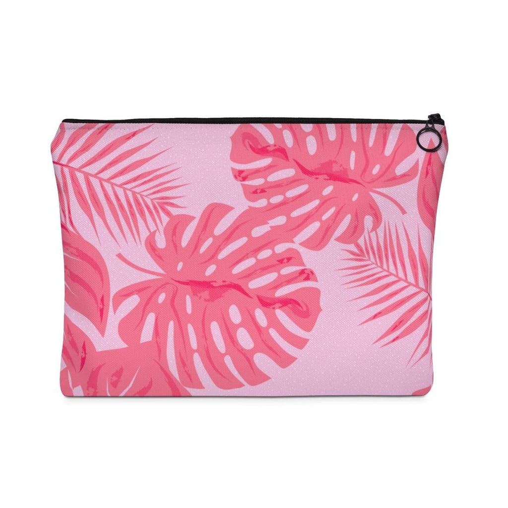 Tropical Flamingo Pink Accessory Pouch-accessory pouches-famenxt
