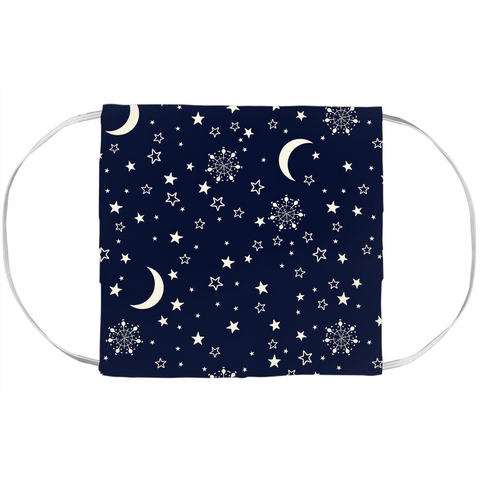 Face Mask Cover Sun Moon Stars-famenxt