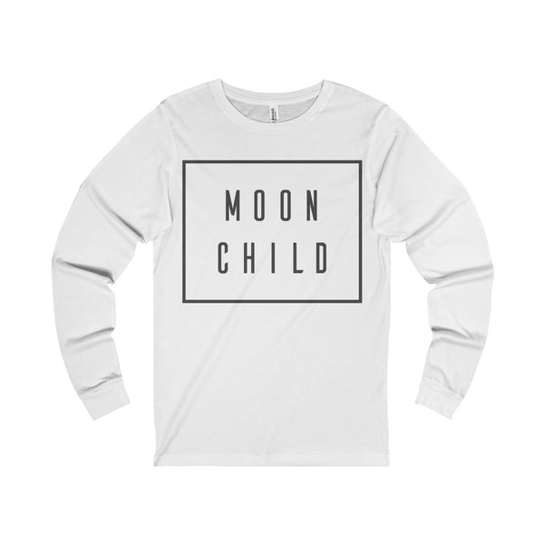 Moon Child Unisex Jersey Long Sleeve Tee-Long-sleeve-famenxt