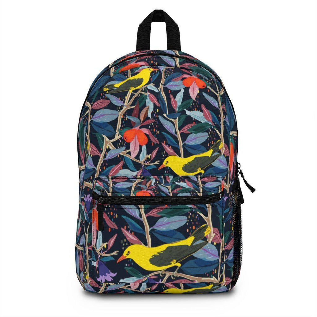 From mybirdparadise Collection Eurasian Golden Oriole Backpack Premium-Bags-famenxt
