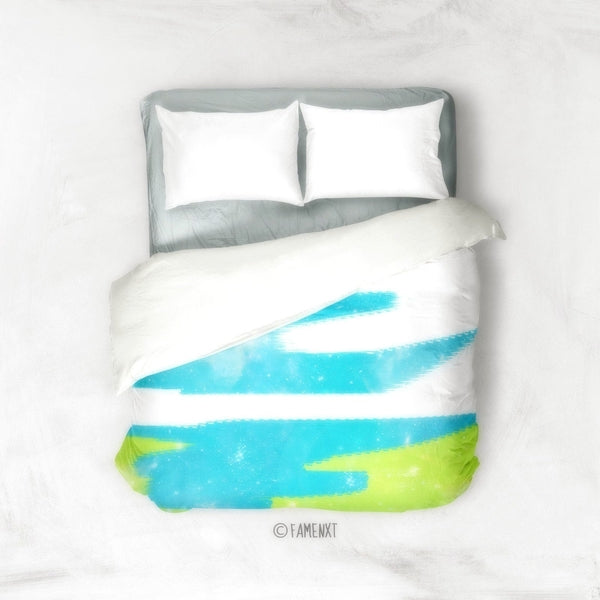 Abstract Duvet Cover-Duvet Cover-famenxt