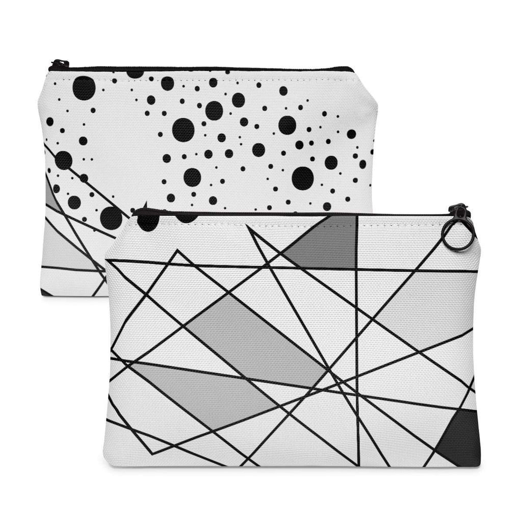 Lines and Dots Accessory Pouch-accessory pouches-famenxt