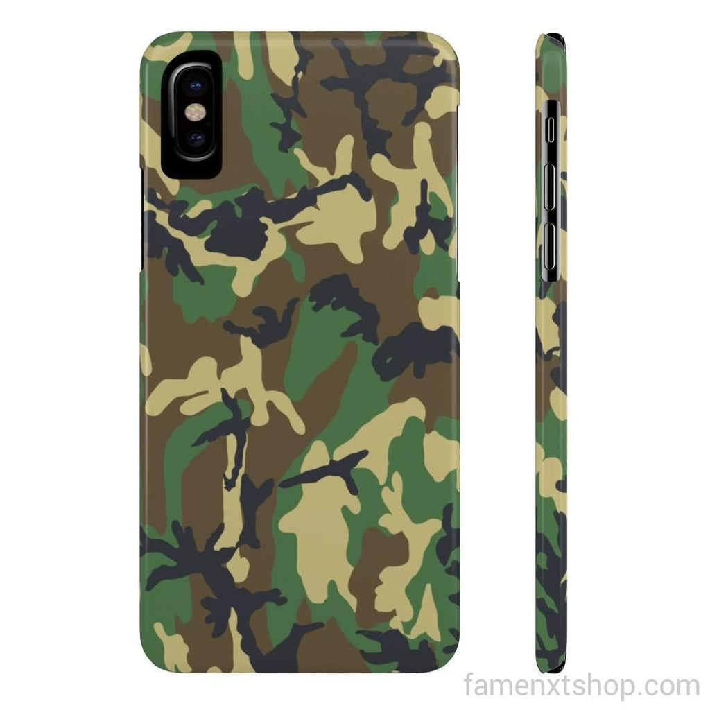Military Camo Slim Phone Cases-Phone Case-famenxt