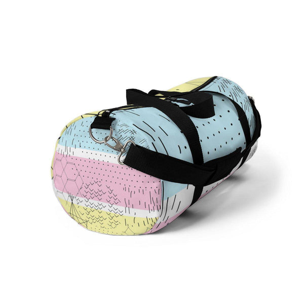 Pastel Abstract Duffle Bag-Bags-famenxt