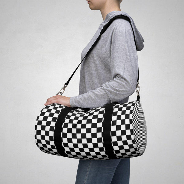 Checkers Duffle Bag-Bags-famenxt