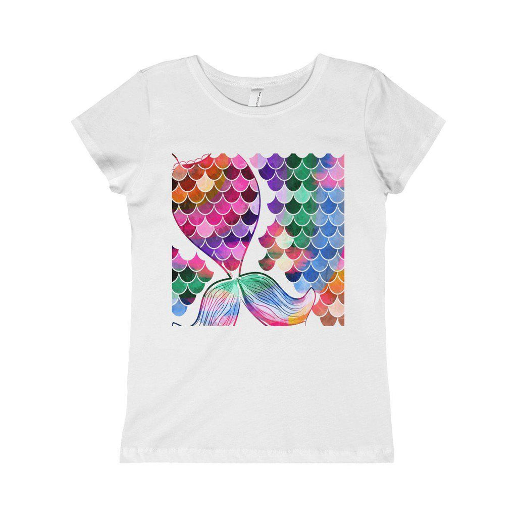 Colorful Mermaid Girls Princess Tee for Sofia-Kids clothes-famenxt