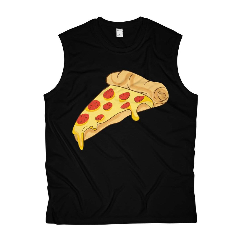 PIzza Men's Sleeveless Performance Tee-Tank Top-famenxt