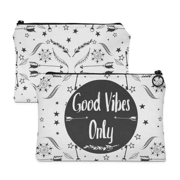 Good Vibes Only Accessory Pouch-accessory pouches-famenxt
