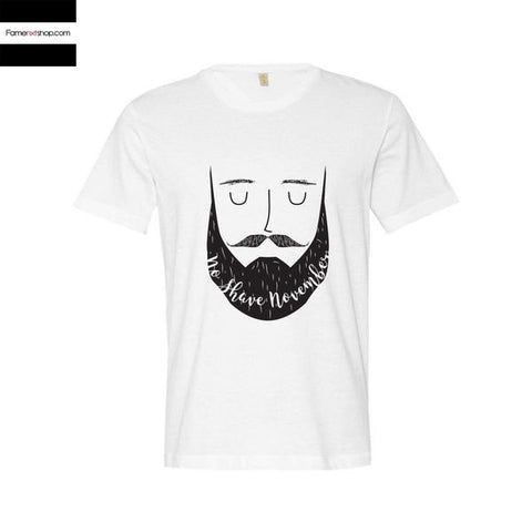 No Shave November T shirt-T shirt-famenxt