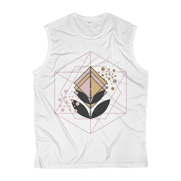 The lines and flower Men's Sleeveless Performance Tee-Tank Top-famenxt