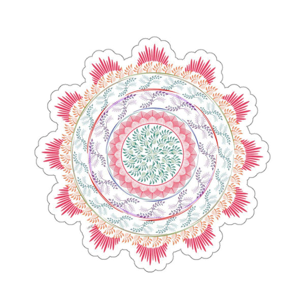 Pastel Mandala Stickers-Paper products-famenxt