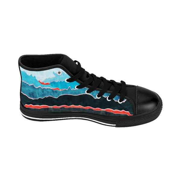 Mountains Women's High-top Sneakers-Shoes-famenxt