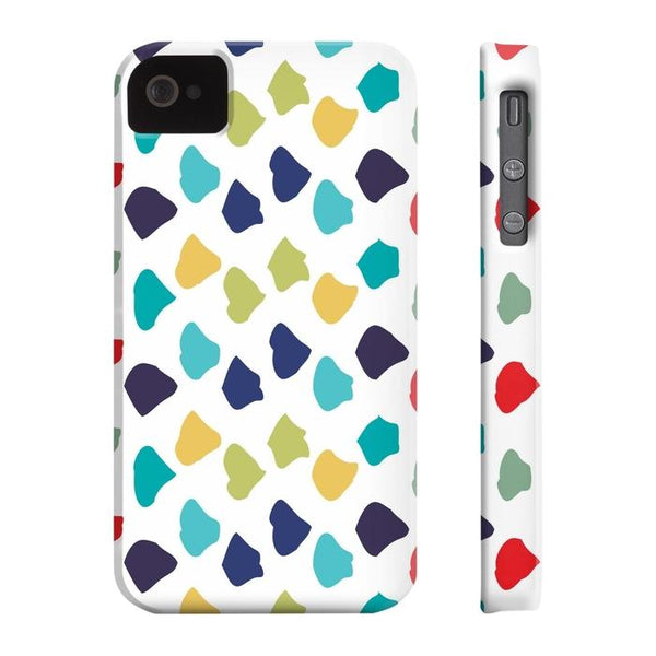 Colorful Dots Tough and Slim Phone cases-Phone Case-famenxt