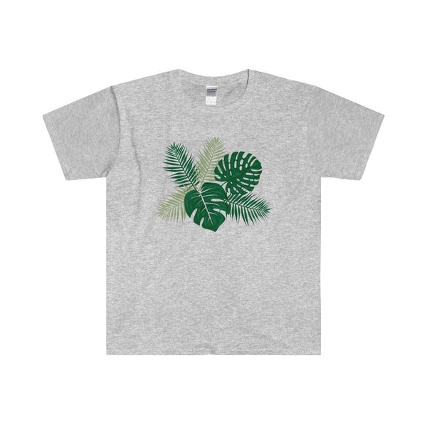 Tropical Leaves Adult T-Shirt-T-Shirt-famenxt