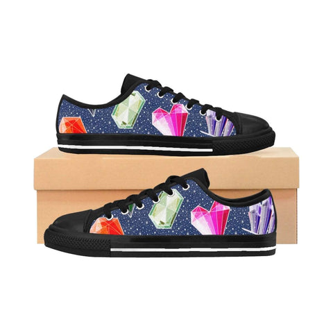 Crystal gems and stones Women's Sneakers - famenxtshop