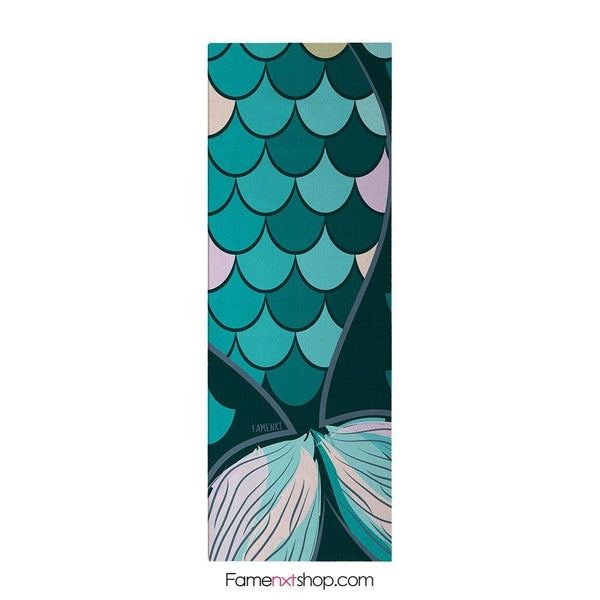 Mermaid tail yoga mat-yoga mat-famenxt
