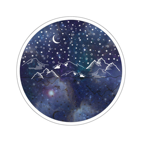 Beautiful Starry Night Stickers-Paper products-famenxt