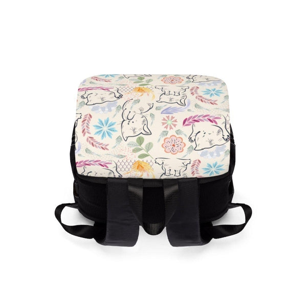 Cats Little Cute Kittens Unisex Casual Shoulder Backpack-Bags-famenxt