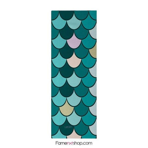 Mermaid scale yoga mat-yoga mat-famenxt